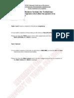BTEC NC - Business Systems - Economic, Environmental, Legislation and Social Constraints that Effect a Company