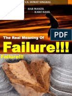 Real Meaning of Failure