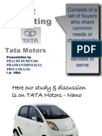 Target Marketing Tata Motors-Nano1
