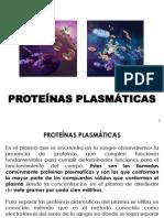 BIOQUIMICA APLICADA - PROTEINAS PLASMATICAS
