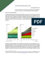 O Crescimento da demanda de energia no mundo