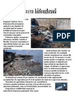 poluarea apei
