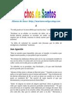 DICHOS DE SANTOS | ALIANZA DE AMOR