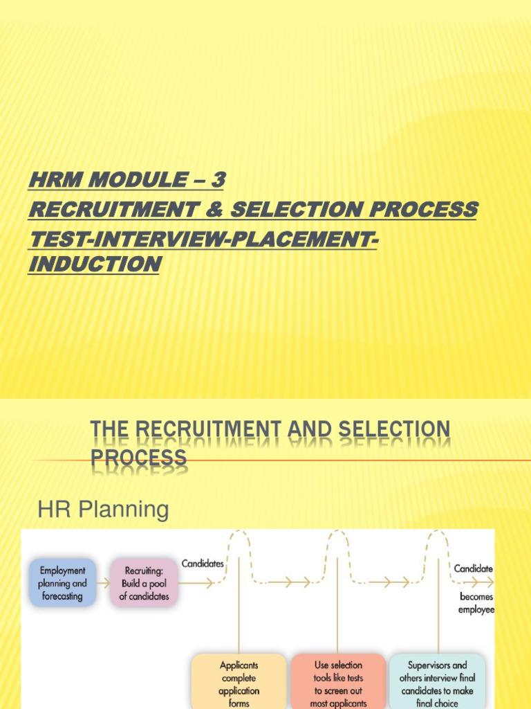 Recruitment Recruitment Validity Statistics
