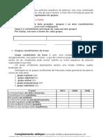 constituintes da fase - comp. oblíquo