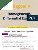 04.4 Homgeneous de of Higher Order