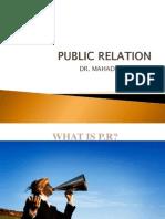 Public Relation Power Point Presentation