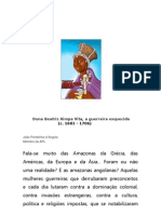 Dona Beatriz Simpa Vita - A Heroína Esquecida