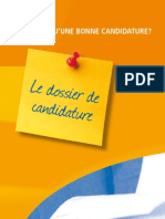Le Dossier de Candidature