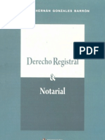 Derecho Registral y Notarial