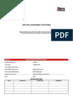 Fire Risk Assessment Proforma