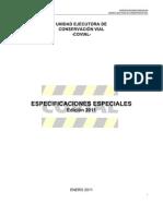 Especificaciones Técnica - 2011 Covial