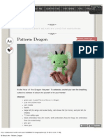 All About Ami - Pattern_ Dragon