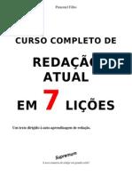 CURSO DE REDAÇÃO 7 LIÇÕES