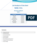 Sec-C Grp-9 Company Analysis Tata Steel
