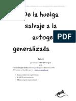 VANEIGEM de La Huelga Salvaje a La Autogestion Generalizada