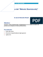 Il Metodo Stanislavskij DA LEGGERE