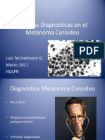 Pruebas Diagnostic As Melanoma