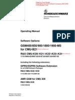 CMU200 User Manual R&S English