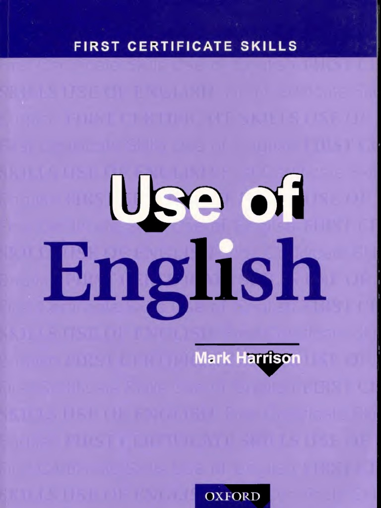 Use Of English By Mark Harrison