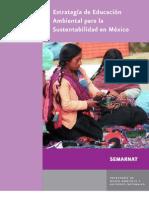 Estrategia de Educacion Ambiental Para La Sustentabilidad en Mexico