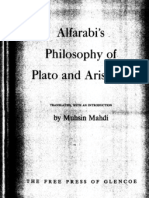 Al Farabi - Philosophy of Plato and Aristotle