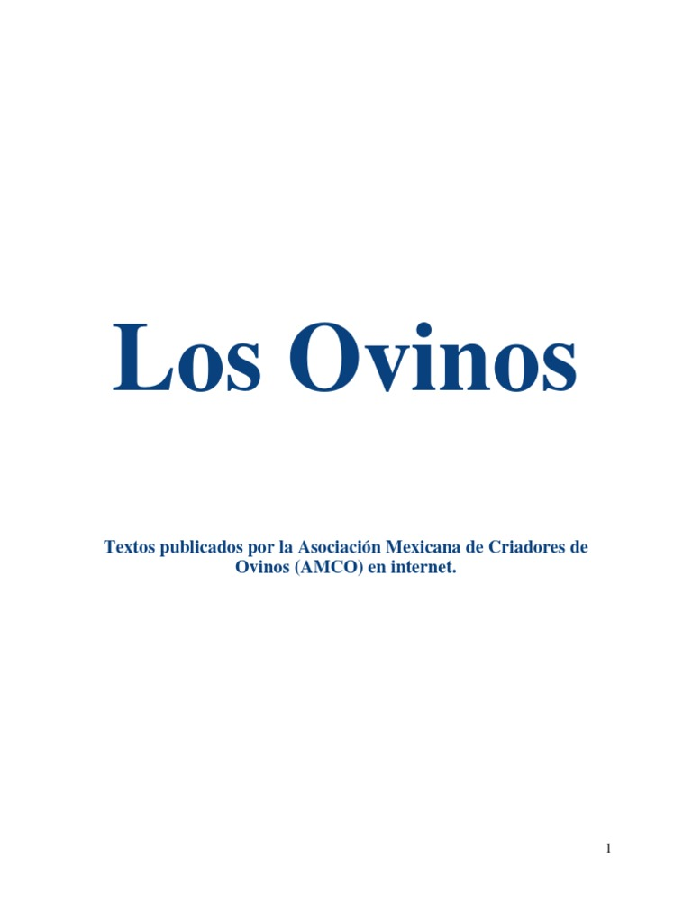 Los Ovinos AMCO