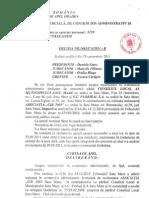 Decizia 1683-2011 CAp Oradrea Dos 475-83-2010 Asoc GIR vs CL Satu Mare, Florisal Anulare Act Emis de Aut Pb Locale