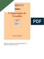 354 MOLIERE Limpromptu de Versailles net