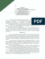 Tribunalul Bucuresti - PUZ Act Administrativ Normativ
