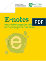 EU Notes Report 2008 2009
