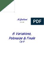 Giuliani Mauro Variations Polonaise Finale 17372