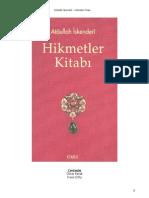Atâullah İskenderî - Hikmetler Kitabı