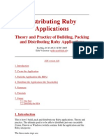 Distributing Ruby Applications