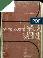 Procese de Transfer Termic