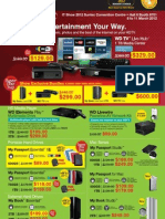 Western Digital IT Show 2012 flyer