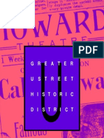 Greater U Street Historic District Brochure (DC Office of Planning, 2003)
