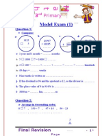 Exams 3rd Prim
