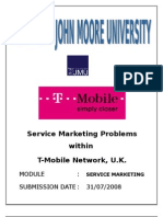 T-mobile service marketing issue