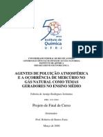 AGENTES DE POLUIÇÃO ATMOSFÉRICA E A OCORRÊN…