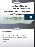 CBIR and Remote Clinical Diagnosis