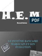 Obiblio Fr 2479 Expose Systeme Bancaire Marocain