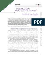 Sociologia - o Estudo Da Sociedade
