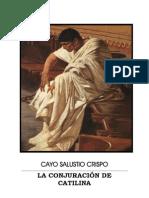 Cayo Salustio Crispo La Conjuracion de Catilina