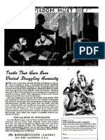 Anuncio Sealed Book AMORC 1943 Popular Science