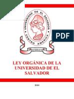 Ley Organica UES