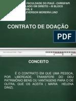 contrato de doação