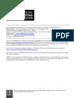 An Eco Feminist Analysis of Environmentally Sensitive Women Using Qualitative Methodology (Jstor)