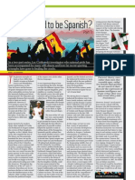 Feeling good to be Spanish? Part 1