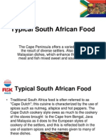 Typical South African Food[1]